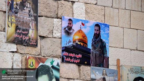 Фотографии сирийских солдат, погибших в боях с ИГ