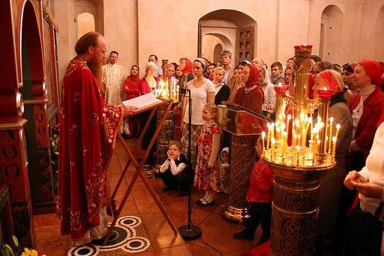 В храме священномученика Антипы