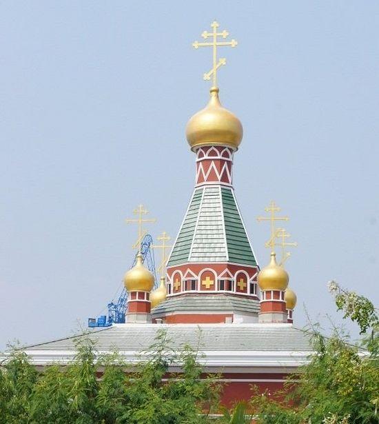 The St. Nicolas Parish of the Russian Orthodox Church in Bangkok. Source: Orthodox.or.th
