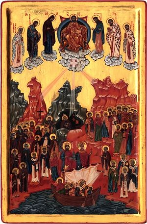 Synaxis of pre-schism Western Orthodox saints