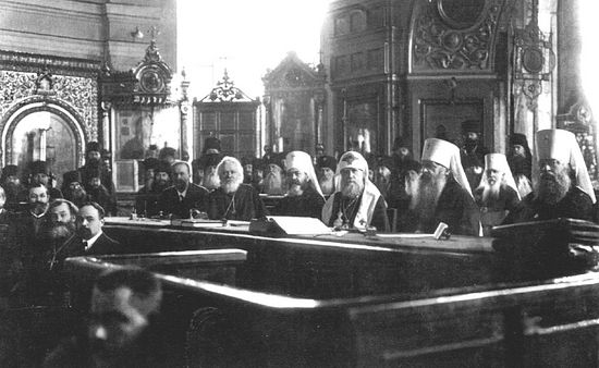 Session of the Local Council of the Russian Orthodox Church, 1917-18.