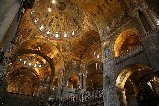 Мозаики собора святого Марка в Венеции