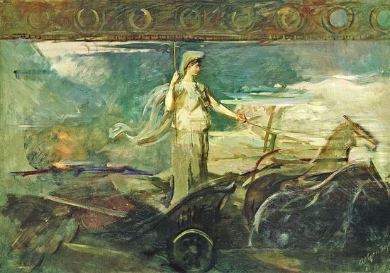 Платоновская аллегория души в виде колесницы