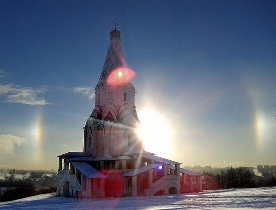 Церковь Вознесения Господня. Коломенское