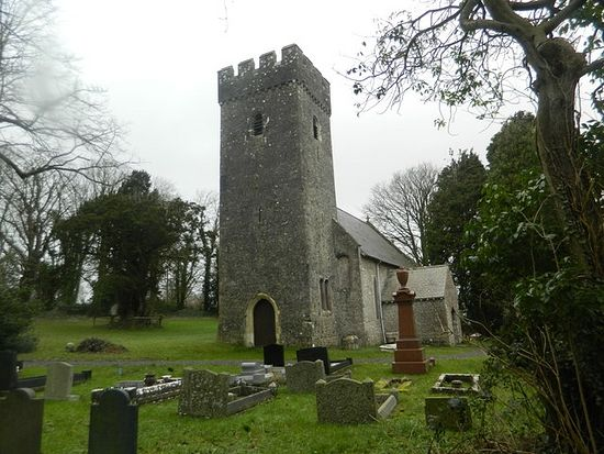 St. Illtyd's Church in Llantrithyd