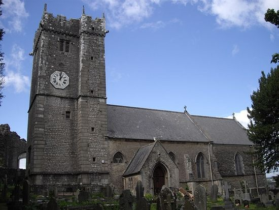 St. Illtyd's Church in Newcastle, Bridgend