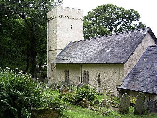 St. Illtyd's Church in Oxwich, Gower Peninsula, West Glamorgan
