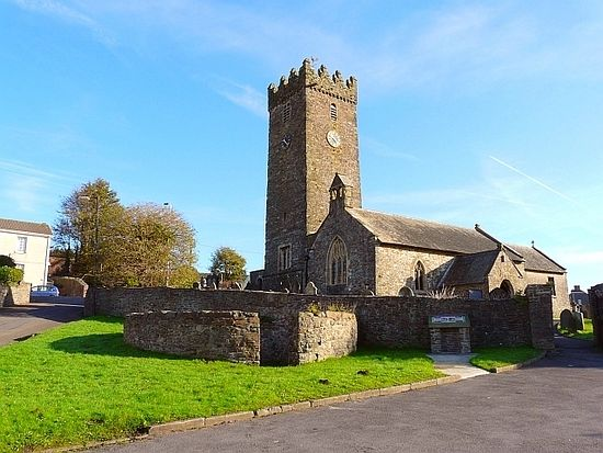 St. Illtyd's Church in Pembrey, Carmarthenshire