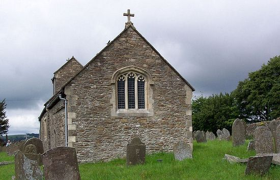 St. Illtyd's historic Church in Llanhilleth, Blaenau Gwent