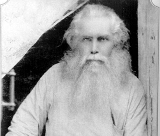 Митрополит Кирилл в ссылке (последняя известная фотография)