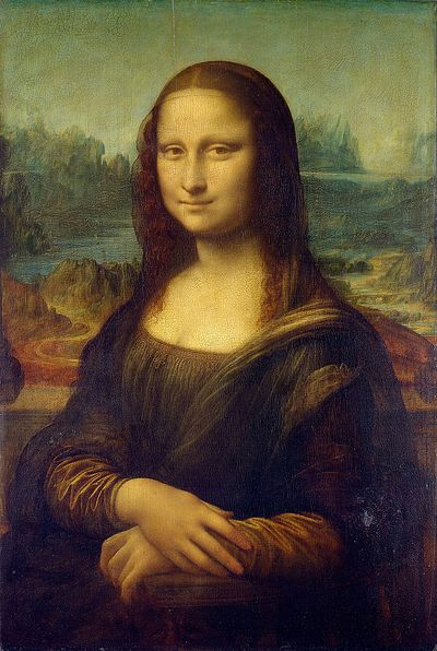 Леонардо да Винчи. «Мона Лиза» («Джоконда»). 1503-1517. Лувр