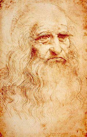 Предполагаемый автопортрет Леонардо да Винчи