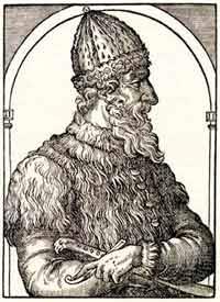 Иван III. Западно-европейская гравюра кон. XV в.