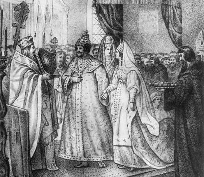 Венчание Великого князя Иоанна III и Зои (Софии) Палеолог