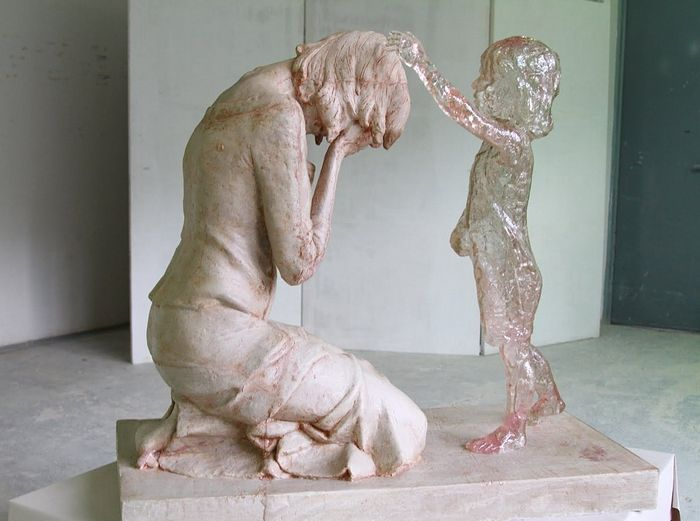 Памятник нерождённым детям. Словения