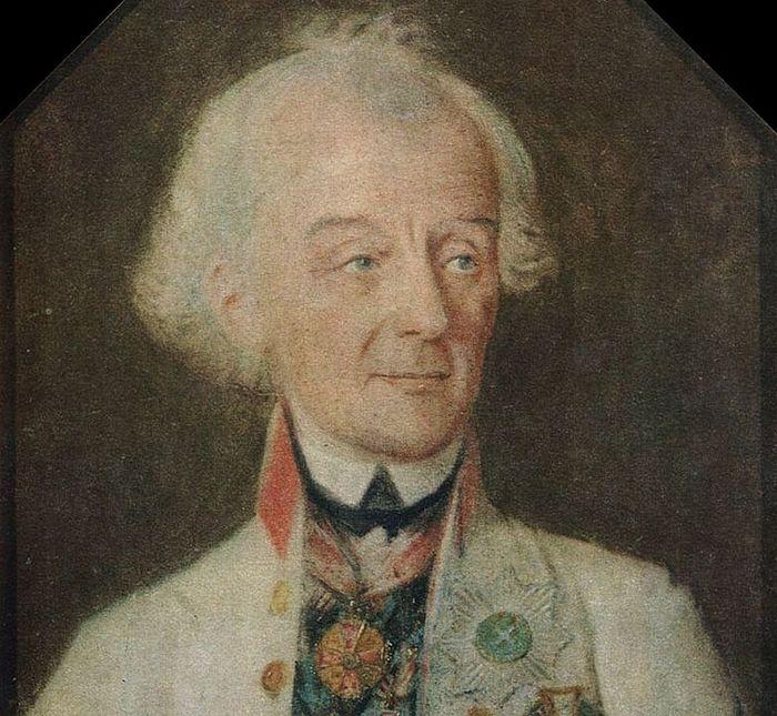 И.Г. Шмидт. А. В. Суворов в 1800 году. Пастель