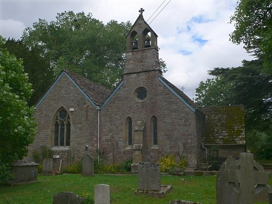 Church of St. Dubricius in Whitchurch, Herefs
