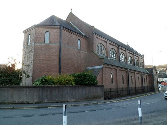 RC Church of St. Dyfrig in Treforest, Wales