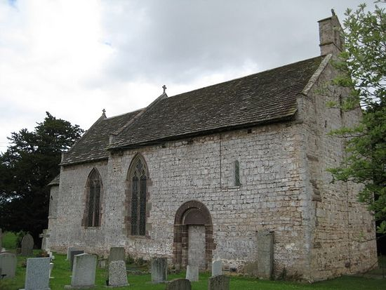 St. Michael's Church in Moccas, Herefordshire