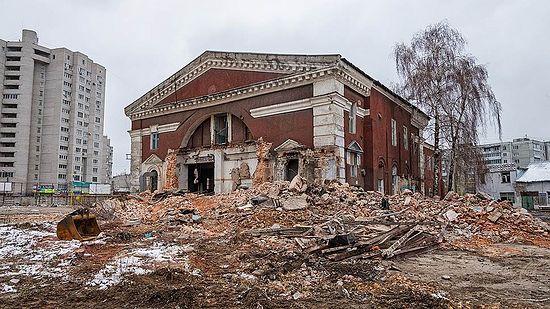 Фото: «КоммерсантЪ», Олег Харсеев. Так выглядит сегодня здания храма Рождества Христова