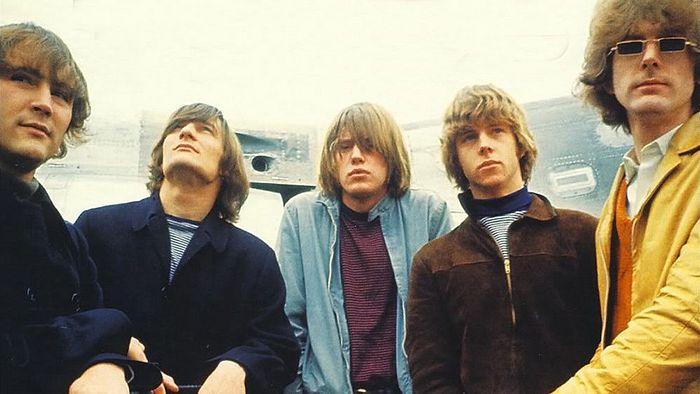 Группа «The Byrds». Крис Хиллман – второй справа