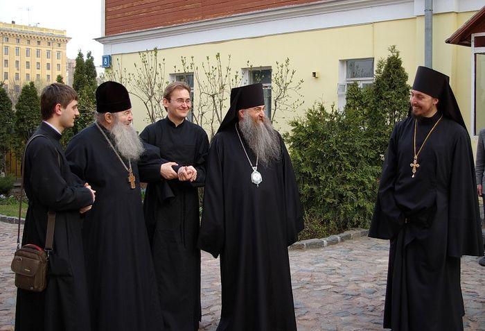 Архимандрит Матфей (Мормыль) и митрополит Саратовский Лонгин