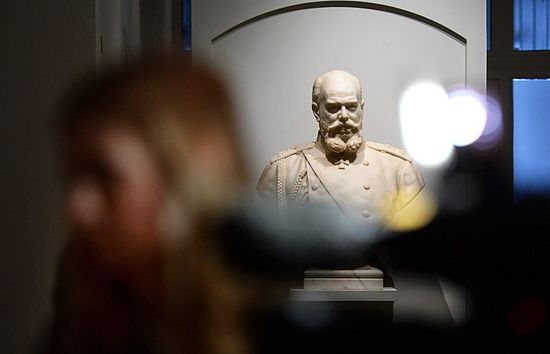 Бюст Александра III работы скульптора Роберта Баха.Фото: ТАСС, Сергей Карпов