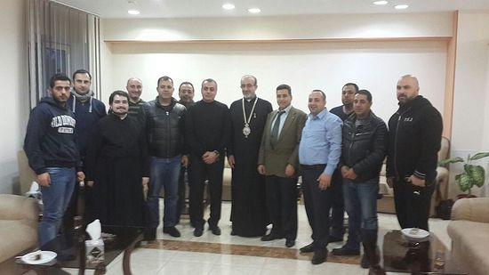 С православными арабами Одессы. Фото Центра «Христиане Ближнего Востока на Украине»