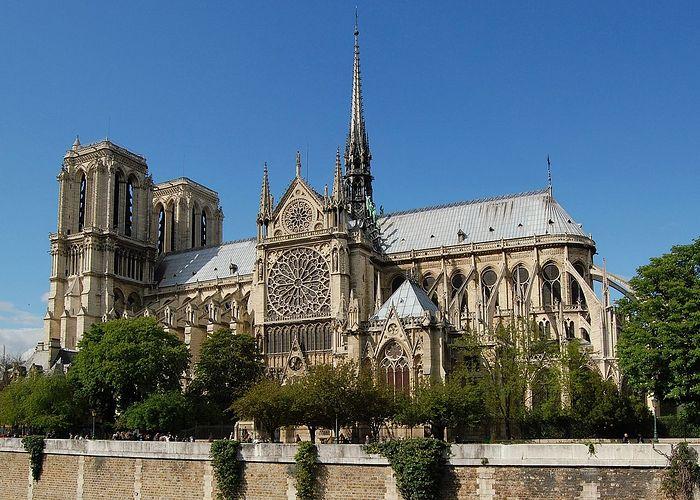 Нотр-Дам де Пари (Собор Парижской Богоматери), южный фасад