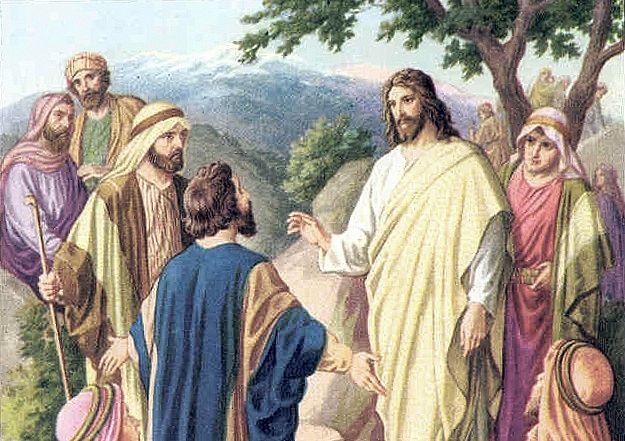 Христос и богатый юноша
