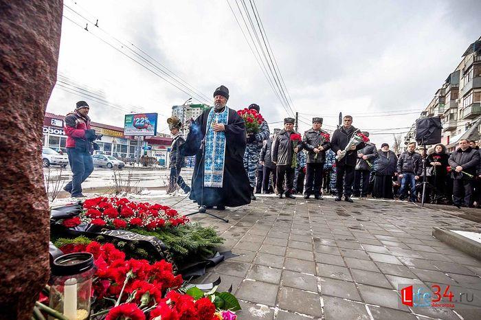 Панихида на месте теракта в Волгограде