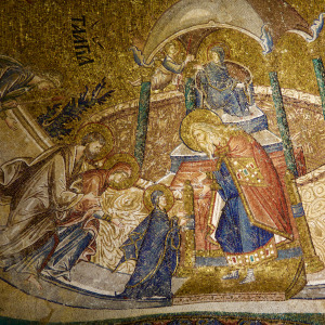Presentation of the Theotokos in the Temple (Chora Church, 14th c, Istanbul)