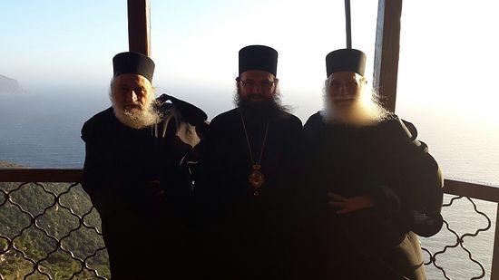 Епископ Климент (Вечеря) на Афоне