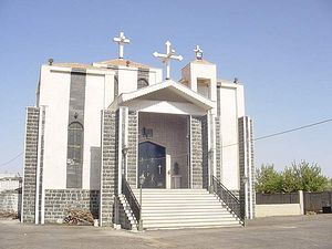 Christ the Savior Church in Jbeh, part of the Bosra-Hauran diocese in Southern Syria.