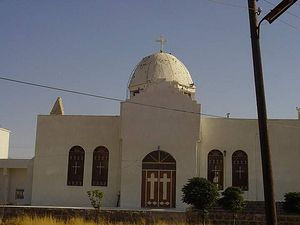 The St. George Church in Jbeh, part of the Bosra-Hauran diocese in Southern Syria. (Courtesy of antiochian.org)