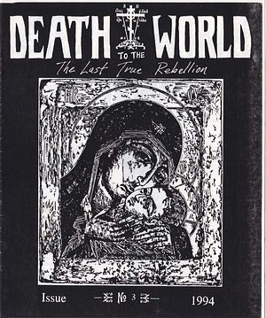A copy of 'Death to the World,' the 'zine Marler distributed in Bay Area punk clubs while living at an Eastern Orthodox monastery. (Courtesy of Justin Marler)