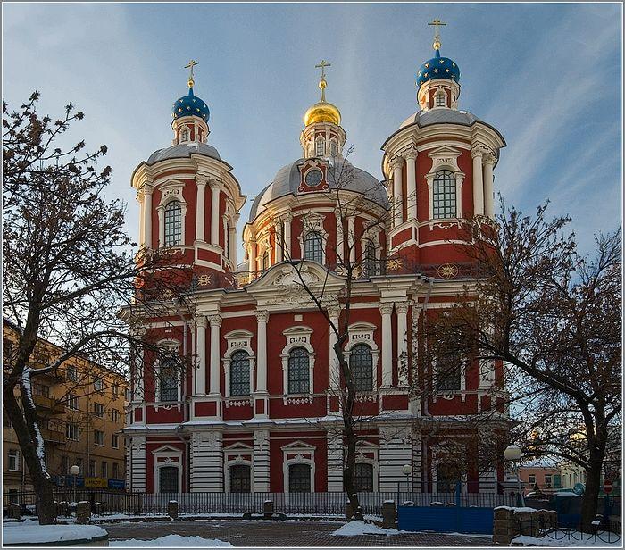 Москва. Храм сщмч. Климента