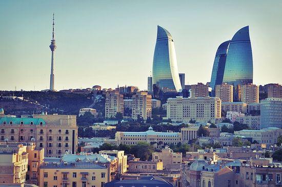 Баку, вид на город