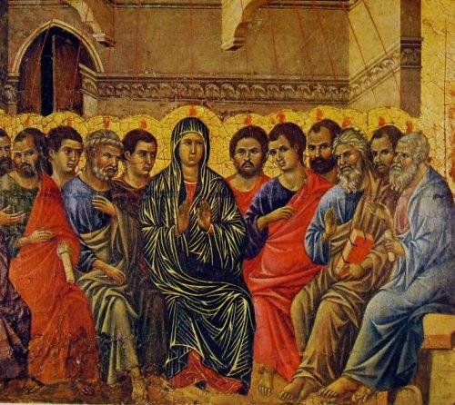 Pentecost. Duccio di Buoninsegna.