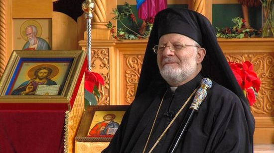 His Eminence Metropolitan Joseph Al-Zehlaoui, the North American leader of the Antiochian Orthodox Christian Archdiocese, said his home country of Syria is not entombed in ISIS but was once a place where Christians, Jews and Muslims lived in peace. In Salt Lake City on Saturday, Dec. 12, 2015. (Mike Radice, Deseret News)
