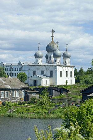 Вологодская область. г. Белозерск, Кремль, Собор Спаса Преображения Господня. 2010 г. Фото: Уильям Брумфилд