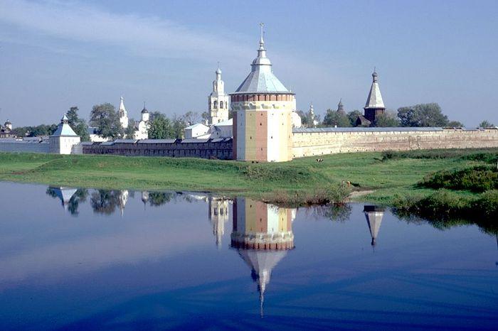 Спасо-Прилуцкий монастырь, 1998 г. Фото: Уильям Брумфилд