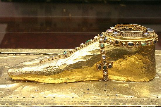 Sandal of Apostle Andrew the First-Called, Trier, Germany.