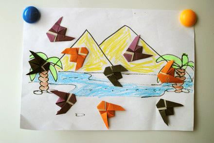 Если ребенок рисует мух