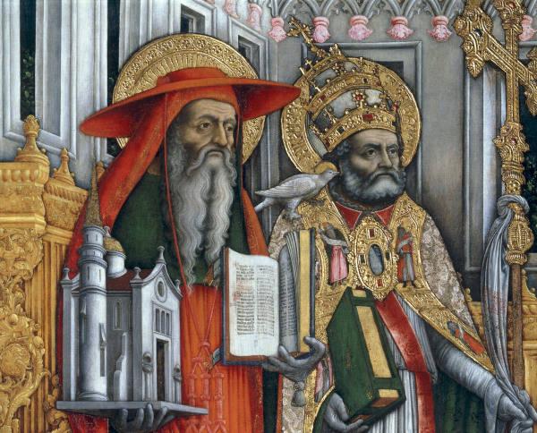 Блаженный Иероним и святитель Григорий Двоеслов