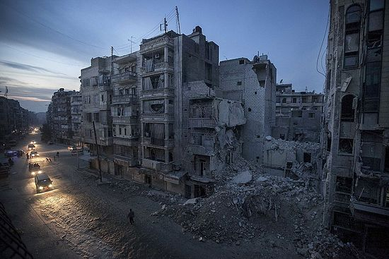 Aleppo, Syria. Photo: Narciso Contreras/AP Photo.