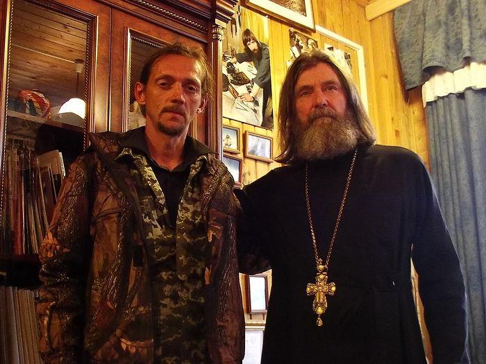 Два путешественника. С о. Феодоровым Конюховым в Свято-Алексеевской пустыни