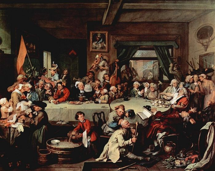 Give us back our eleven days! William Hogarth, 1755.