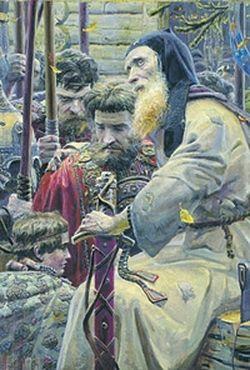 Павел Рыженко. Благославление преподобного Сергия Радонежского. Предоставлено автором