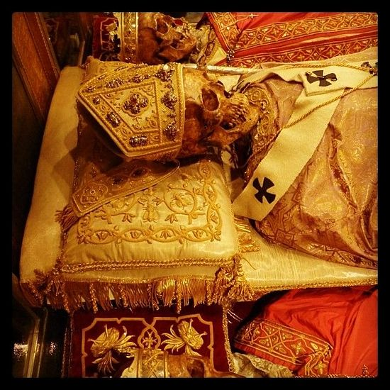 Relics of St. Ambrose